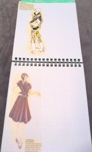 Customized Page with Added Photos of Croquis in Fashions
