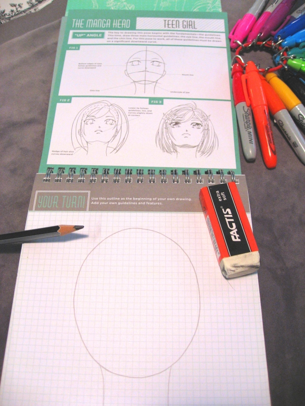 Instructions on How to Draw Figure Head