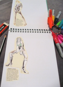 Customized Page with Added Croquis in Fashions