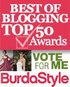 Top 50 Blogs for Sewing Enthusiasts Button