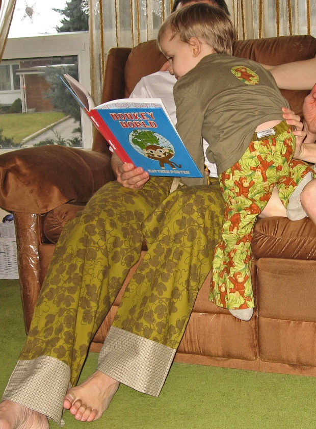 Father and Son Coordinating PJs