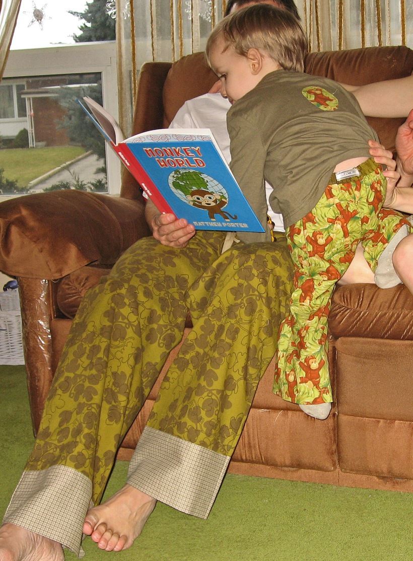 Father and Son PJs