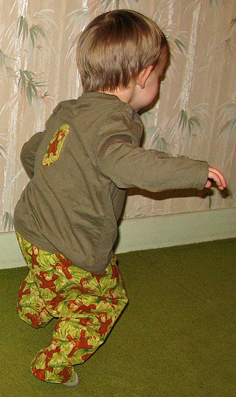 Run Little Mister Monkeypants Run!!