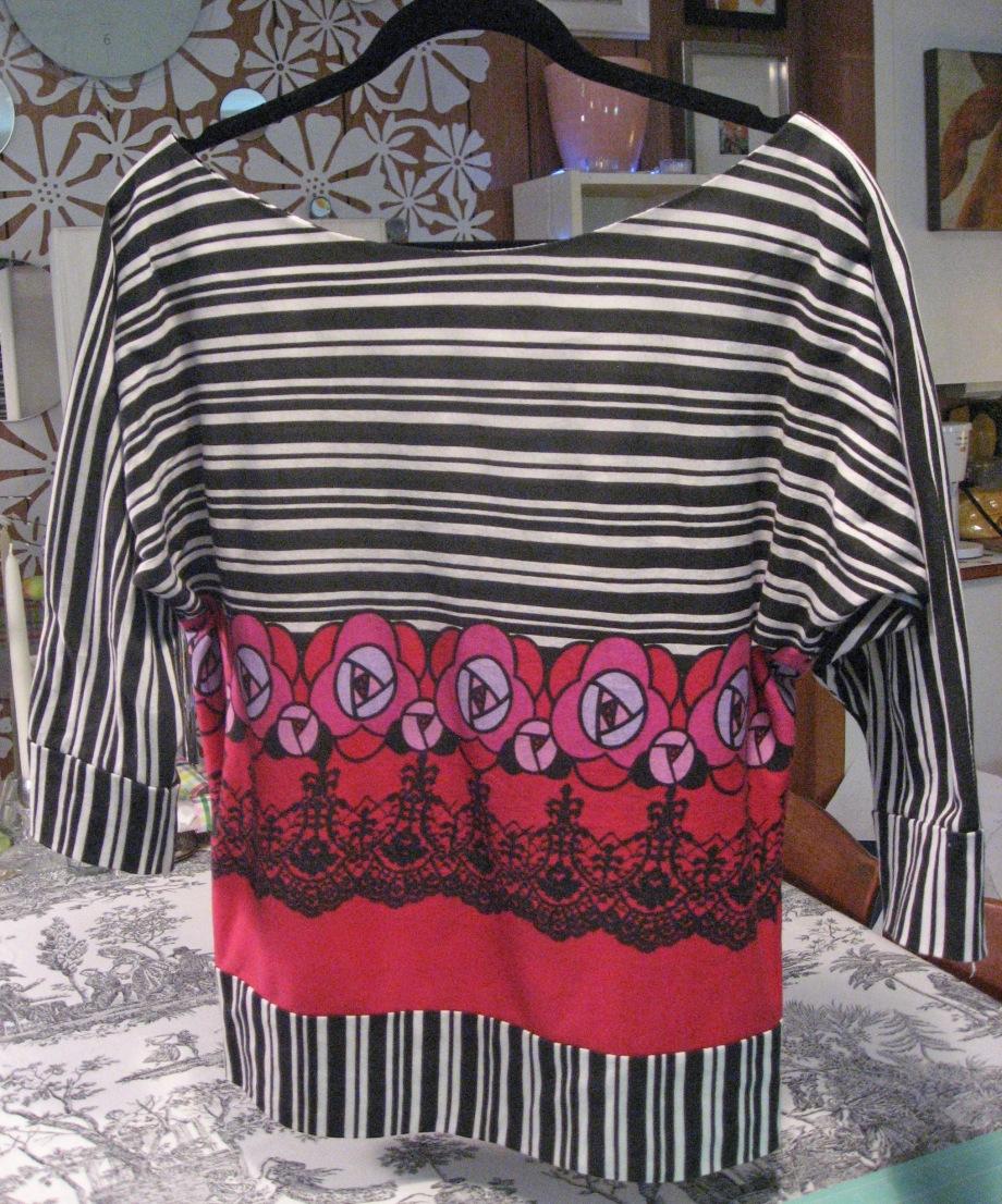 Dolman  Sleeve Knit Top 2