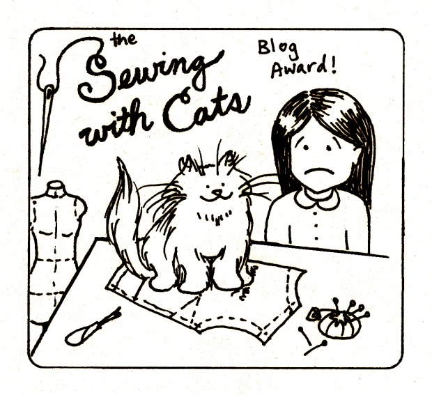 Sewing With Cats Blog Award
