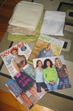 Sewing Stuff I Brought