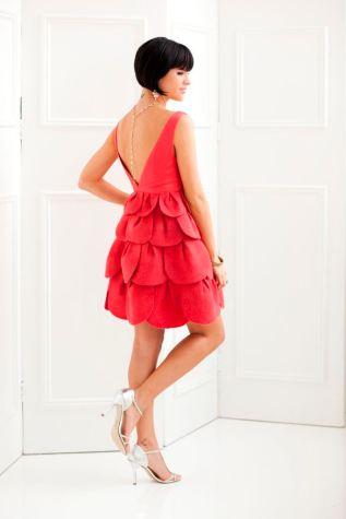 anna cohen petal dress