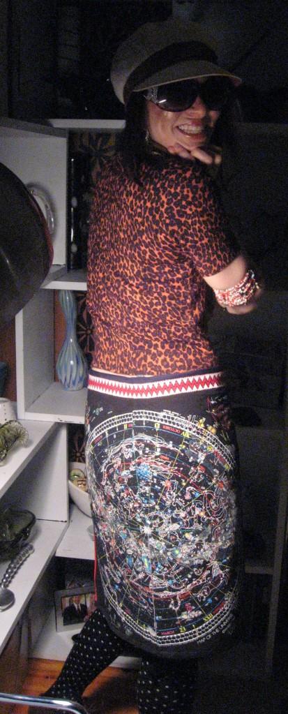 Charging My Skirt Backside