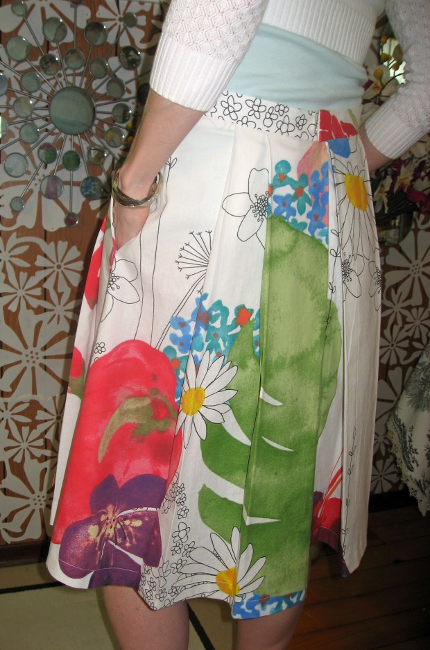Ikea Fabric B5285 Skirt Back