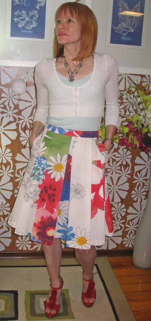 Ikea Fabric B5285 Skirt Front 3