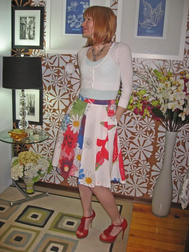 Ikea Fabric B5285 Skirt Front