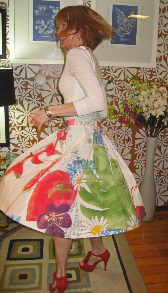 Ikea Fabric B5285 Skirt Twirling 4