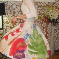 Sewing Dare Done: Ikea Fabric + Butterick 5285