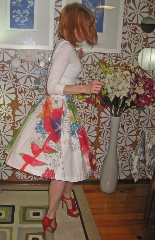 Ikea Fabric B5285 Skirt Twirling