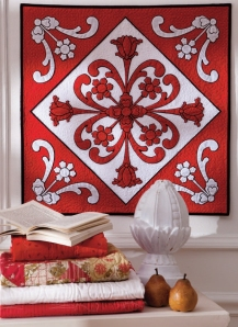 Marcia Harmening Queen of Hearts Quilt