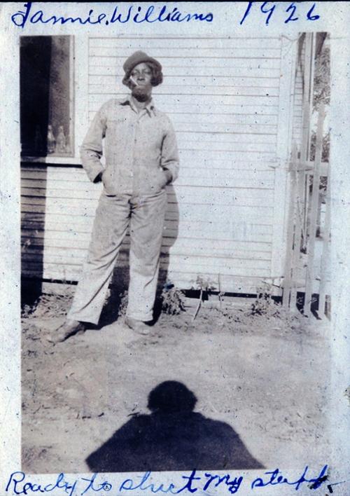 1926 photo Ready to Strut My Stuff
