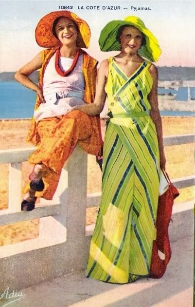 Beach Pajamas La Cote D'Azure