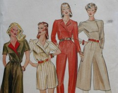 Butterick 4177 Jumpsuit Pattern