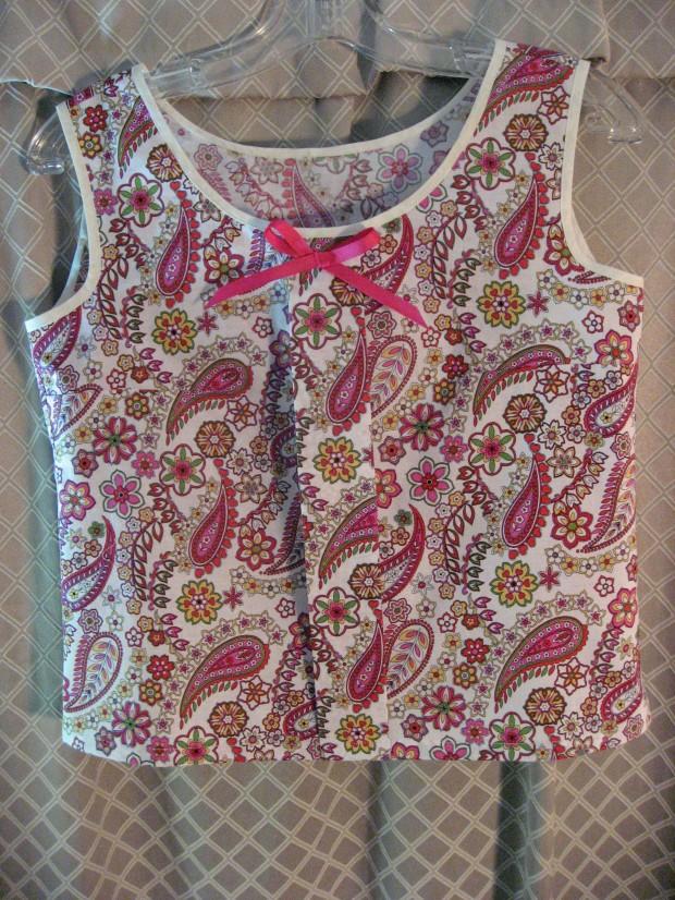 Colette Sorbetto Pajama Top 2