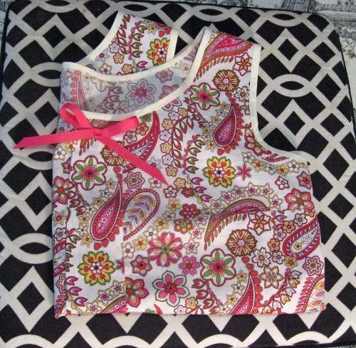 Folded Colette Sorbetto Top