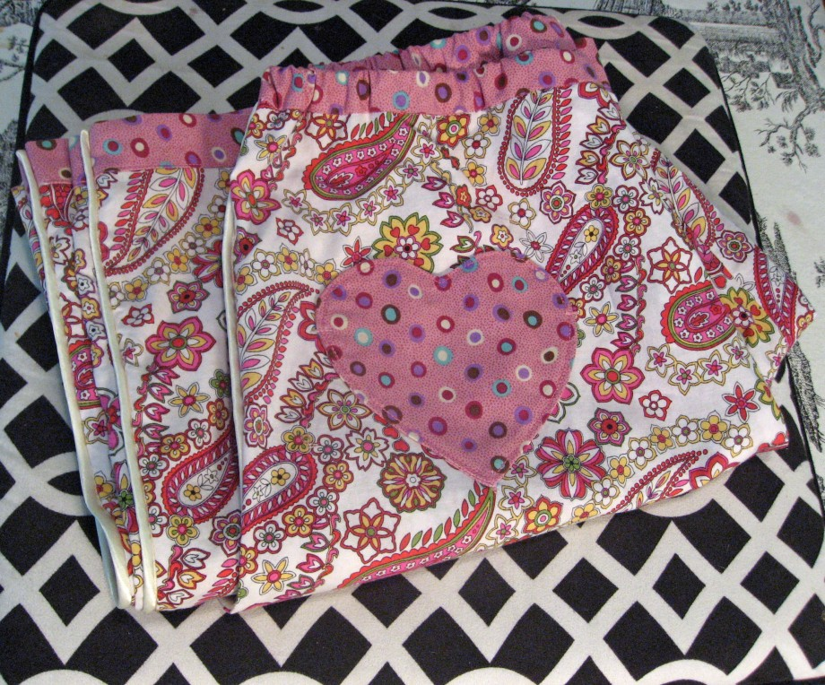 Folded Sewaholic Downtown DIY Sewing Book Pajama Bottoms