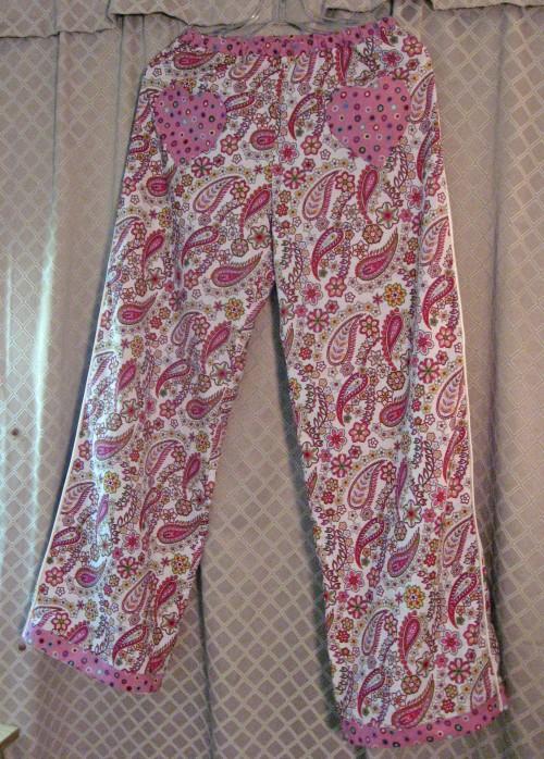 Sewaholic Tofino Frankenpatterned Pajama Bottoms3