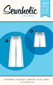 Sewaholic Tofino Pants Pattern