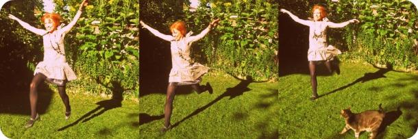 1920s Drop Waist Dress with Shadows