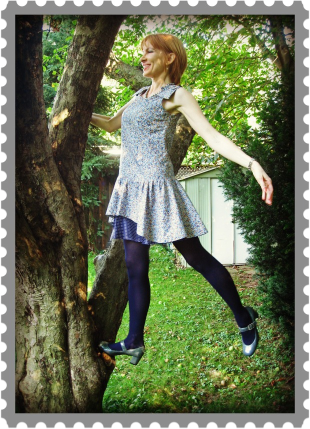 Climbing a Tree postage stamp