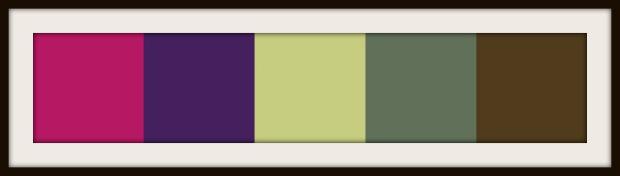 Pantone Fall 2013 Colours Used