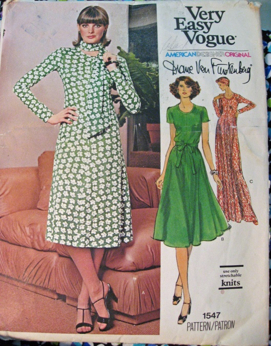 Diane Von Furstenberg 1970s Dress Pattern