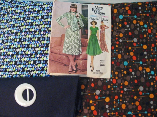 Fabrics for Diane Von Furstenberg Dress