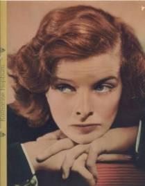 Katherine Hepburn was a ginger