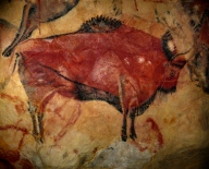 Cave Drawing Altamira, Spain