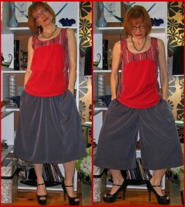 Is It A Skirt??  Nope!! It Is Culottes.