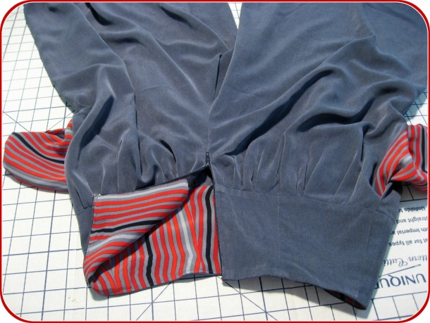 Lined Yoke and Pockets