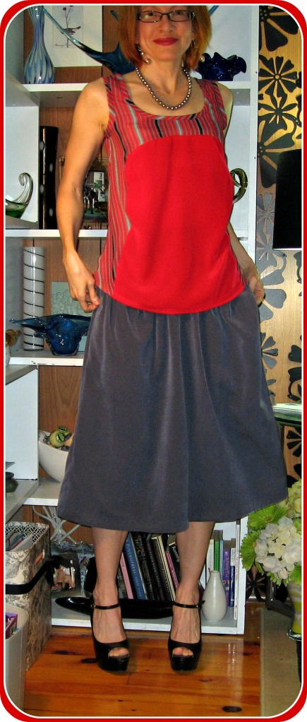 Red By Hand London Polly Top and Culottes