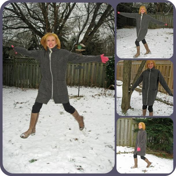 Snow.  Wheeee!!!!