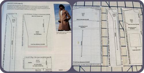 Fatigue Jacket Pattern Pieces