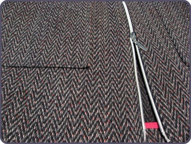 Jacket Fabric and Separating Zipper