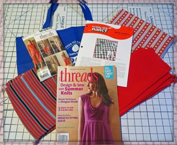 Fabric Magazine Pattern Tote Winning Bundle