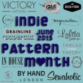 indie pattern month
