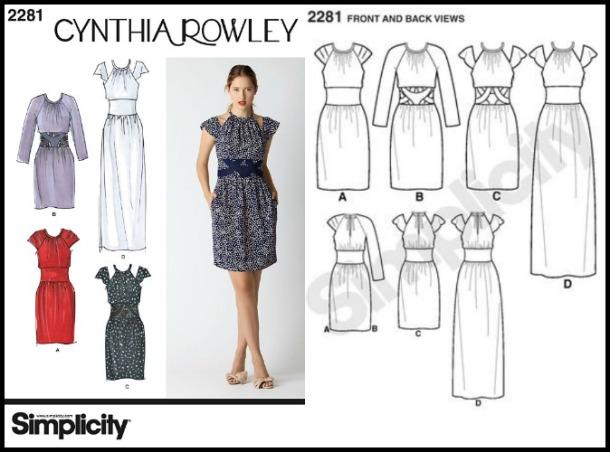 Simplicity 2281 Cynthia Rowley