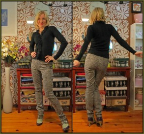 February's Monthly Stitch Challenge is Smarty Pants where we try our hand at trousers of all kinds! As you may already be aware, trousers/pants are not the easiest thing in the world to fit.  So, for my contribution, I went with a fairly simple pattern, no pockets or front fly and used a stretch twill.  Not only is the stretch fabric far more comfortable, but it really is easier to fit...continue reading