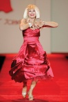 Betsey Johnson in the Red Dress Collection, 2007 for the Heart Truth Campaign (raising awareness of heart disease in women)