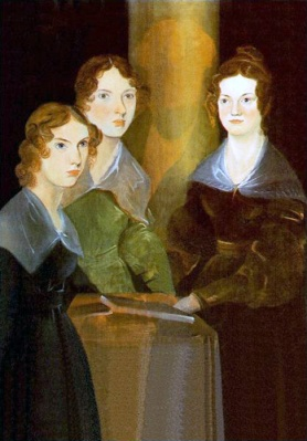 The Brontë Sisters, painted by their brother Patrick Branwell Brontë (died 1848)