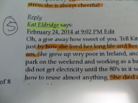 Kat Eldridge!!  Congratulations Kat!  Please send over an email and we will post your wining sewing notions out to you.