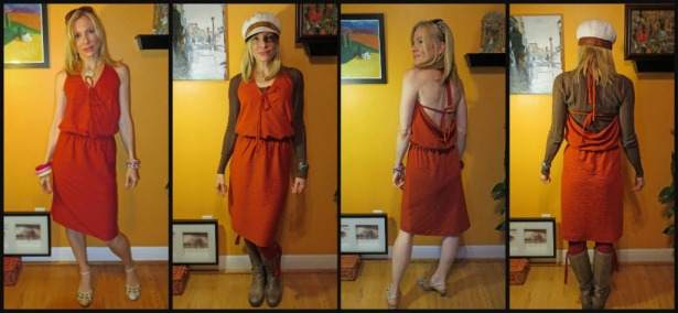 Burda 7512 Front and Back Summer and Winter Style