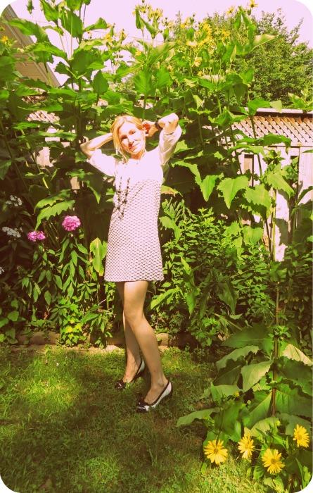 Burda Dress 60s Hippie Style