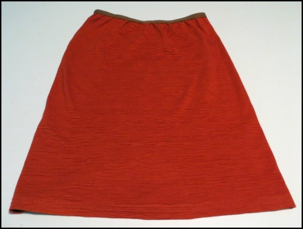 Test Samples as a Knit Yoga Skirt
